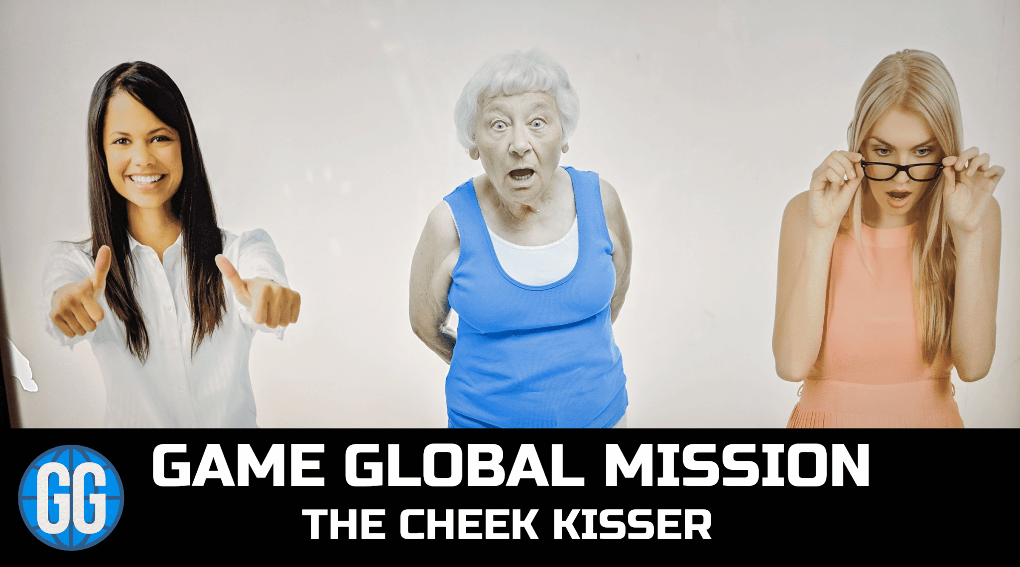 Mission 2: The Cheek Kisser