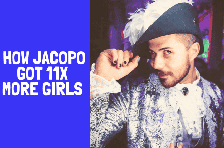 Podcast 38: How Jacopo Got 11x More Girls