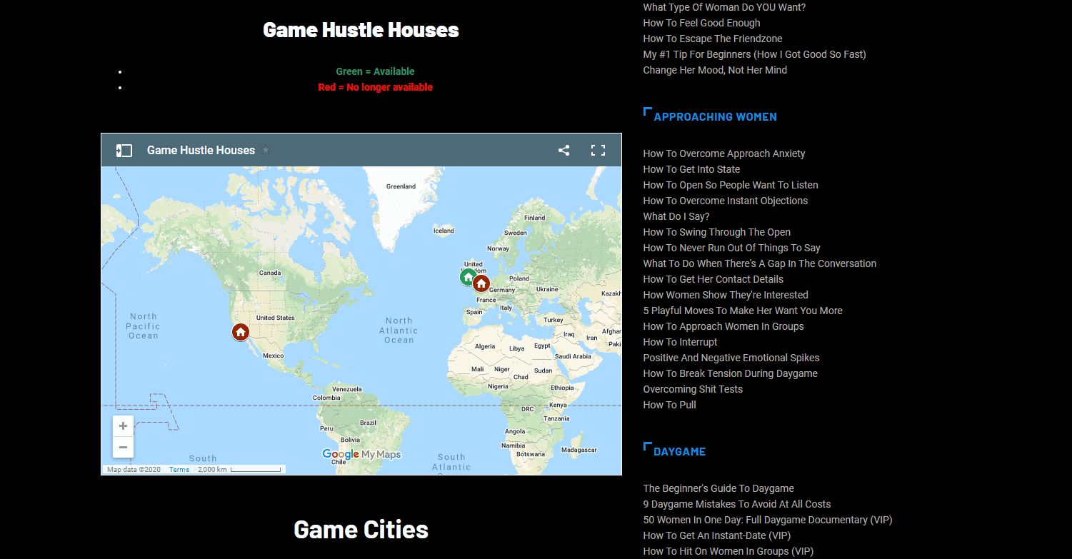 Game Maps, PUA RSD Inner Circle Groups for wingmen wings pickup hustle house hustle houses Project Hollywood Neil Strauss The Game PUA forum forums Telegram WhatsApp groups group Real Social Dynamics